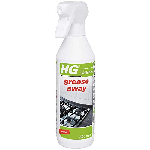 HG Grease Away 500 ml – is a Grease Remover Kitchen Cleaning Product which Works on All Surfaces