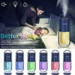 Small Personal Humidifier for Bedroom Home Desk Office Car Travel