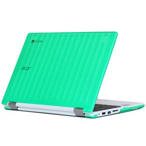 "mCover Green Hard Shell Case for 11.6"" Acer Chromebook R11 CB5-132T / C738T series (NOT compatible with Acer C720/C730/C740/CB3-111/CB3-131 series) Convertible Laptop (Model: R11 CB5-132T / C738T)"