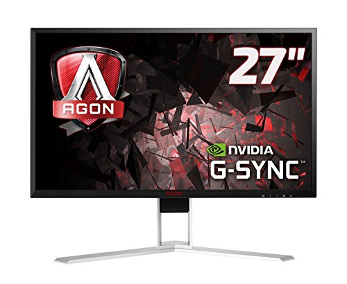 """AOC AGON AG271QG 27"""" IPS LED QHD (2560x1440) G-Sync 165Hz Gaming monitor with Built-in speakers. (HDMI"""