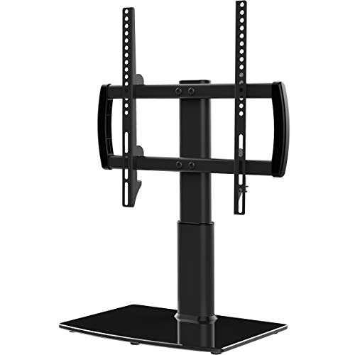 Universal TV Stand/Base Tabletop TV Stand with Wall Mount for 27 to 55 inch 4 Level Height Adjustable