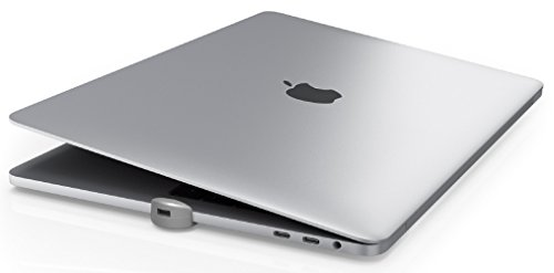 Maclocks MBPRLDGTB01 The Ledge Security Slot Lock Adapter for Apple MacBook Pro with Touch Bar - Silver