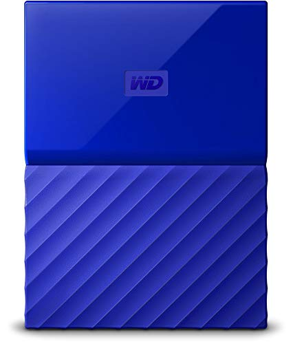 WD My Passport 4 TB Portable Hard Drive and Auto Backup Software for PC