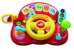VTech 166603 Baby Tiny Tot Driver Suitable for Children Toddler Interactive Drover Toy Featuring a Steering Wheel with Music and Light