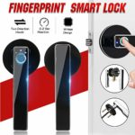 USB Charging Semiconductor Fingerprint Lock for Home Apartment School Office