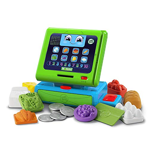 Leapfrog Count Along Till Educational Interactive Toy Shop With 20-Piece Pretend Play Set