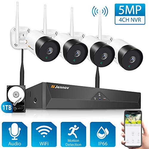 5MP Wireless Security Camera System