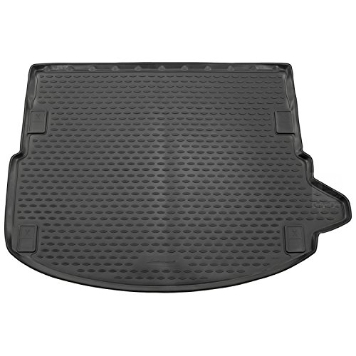 Novline MAT209 Custom Tailored Fit Black Rubber Boot Liner Mat (without adaptive Mounting System in the Boot)