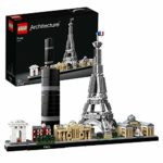 LEGO 21044 Architecture Paris Model Building Set with Eiffel Tower and The Louvre