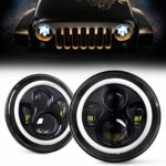 DOT Approved 7 Inch LED Round Headlights