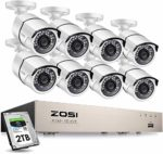Home Security Camera System 120ft Night Vision Motion Detection Remote Access