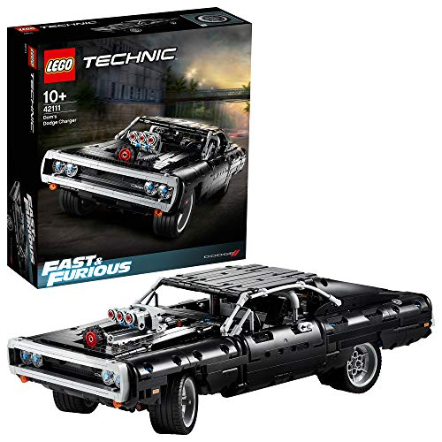 LEGO 42111 Technic Fast & Furious Dom's Dodge Charger Racing Car Model