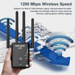 360 Degree Full Coverage WiFi Extender Signal Amplifier with Router/AP/Repeater Mode