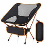 Strong Sturdy Portable Garden Chairs Lightweight with Carry Bag
