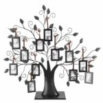 Wifehelper Fashionable Family Photos Frame Display Tree with Hanging Pictures Frames Home Decor Good Gift(L)