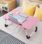 Adjustable Laptop Bed Table Lap Standing Desk for Bed: Amazon.co.uk: Electronics