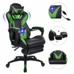 YOURLITEAMZ Racing Gaming Chair with Footrest
