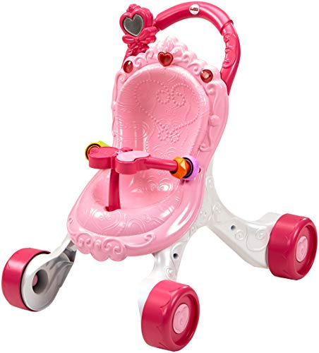 Fisher-Price Princess Mommy Stroll-Along Musical Walker