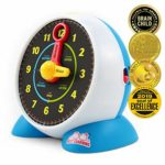 BEST LEARNING Learning Clock - Educational Talking Learn to Tell Time Light-Up Toy with Quiz and Sleep Mode Lullaby Music for Toddlers Kids: Amazon.co.uk: Toys & Games