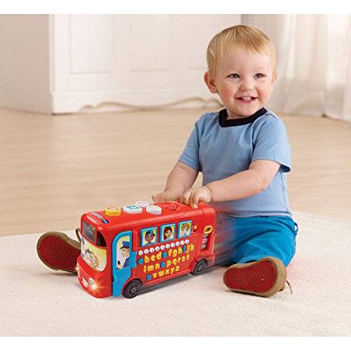 Vtech 150003 Playtime Bus Educational Playset