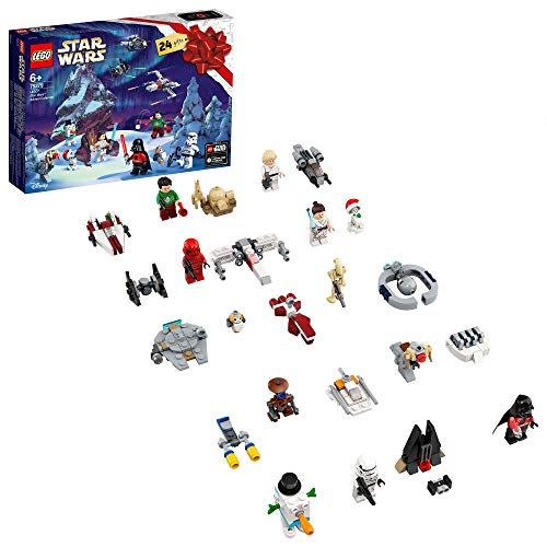 LEGO 75279 Star Wars Advent Calendar 2020 Christmas Mini Builds Set with Iconic Starships and Characters: Amazon.co.uk: Toys & Games
