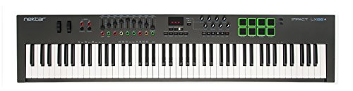 Nektar Impact LX88+ USB MIDI Keyboard Controller with DAW Integration: Amazon.co.uk: Musical Instruments
