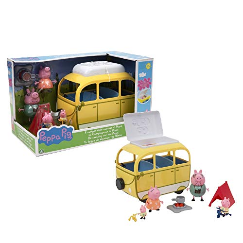Peppa Pig Camper Van with Tent and 4 Characters