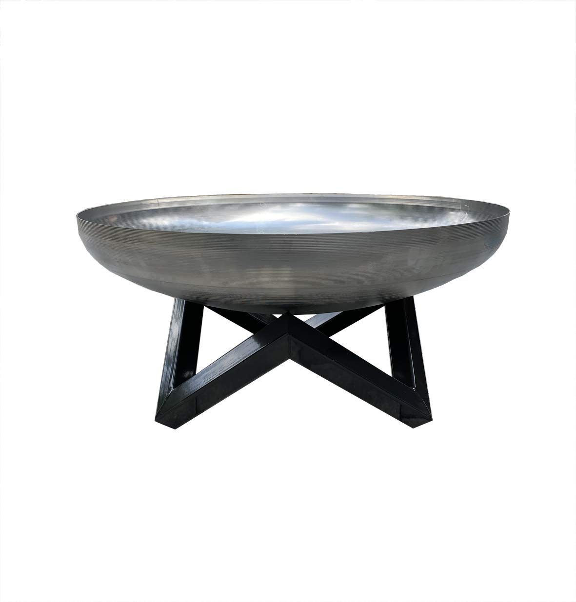 Cheshire On Site Wielding Fire Pit Stainless Steel 65cm Outdoor Garden Bowl Patio Heater BBQ Log Burner: Amazon.co.uk: Garden & Outdoors