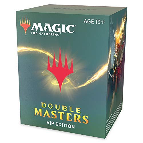 Magic: The Gathering Double Masters VIP Edition: Amazon.co.uk: Toys & Games
