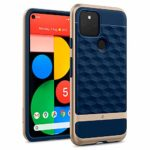 Caseology Parallax Case Compatible with Google Pixel 5 - Navy Blue: Amazon.co.uk: Electronics