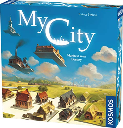 Thames and Kosmos | 691486 | My City | Family- oriented legacy gaming experience| No 2 games are alike! | 2-4 Players | Ages 10+: Amazon.co.uk: Toys & Games