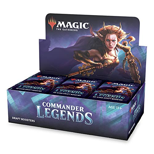 MTG Magic The Gathering Commander Legends Draft Booster Box - 24 Packs of 20 Cards Each: Amazon.co.uk: Toys & Games