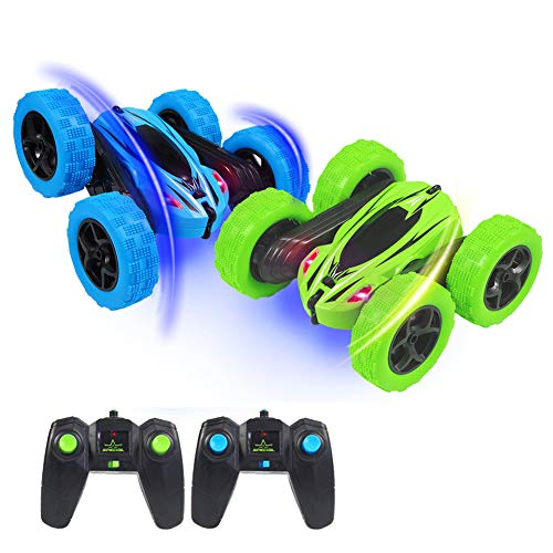 ThinkMax 2 Pack Stunt Cars Remote Control for Kids