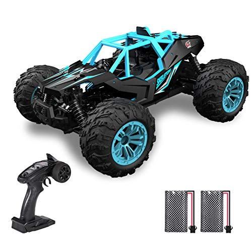Goolsky Remote Control Car 2.4Ghz 40KM/H High Speed 1:16 Off Road RC Trucks Alloy Shell 4WD Vehicle Racing Climbing RC Car Gifts for Kids Adults: Amazon.co.uk: Toys & Games