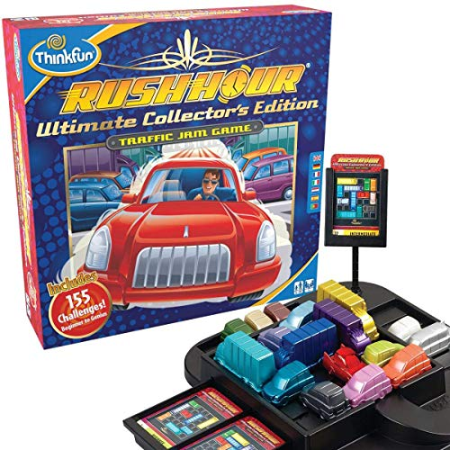 Thinkfun Rush Hour Ultimate Collector's Edition - Traffic Jam Logic Game: Amazon.co.uk: Toys & Games