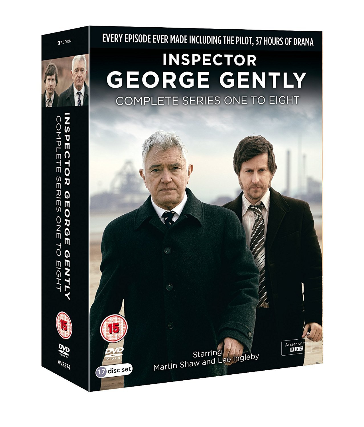 Inspector George Gently - Series 1-8 Box Set [DVD]: Amazon.co.uk: Martin Shaw