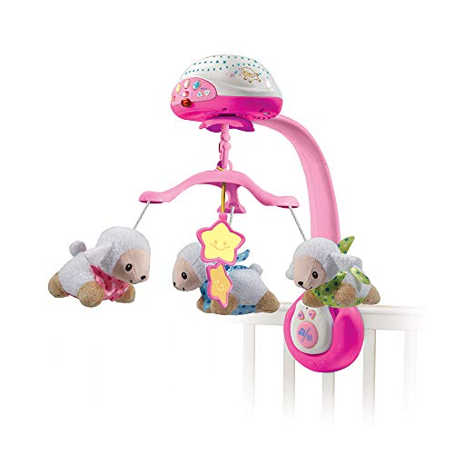 VTech Lullaby Lambs Mobile (Pink)