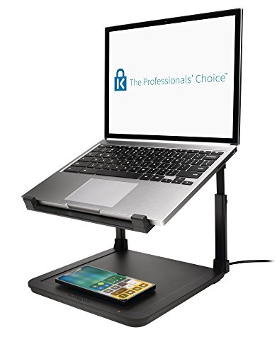 Kensington K52784WW SmartFit Laptop Riser with Wireless Phone Qi Charg