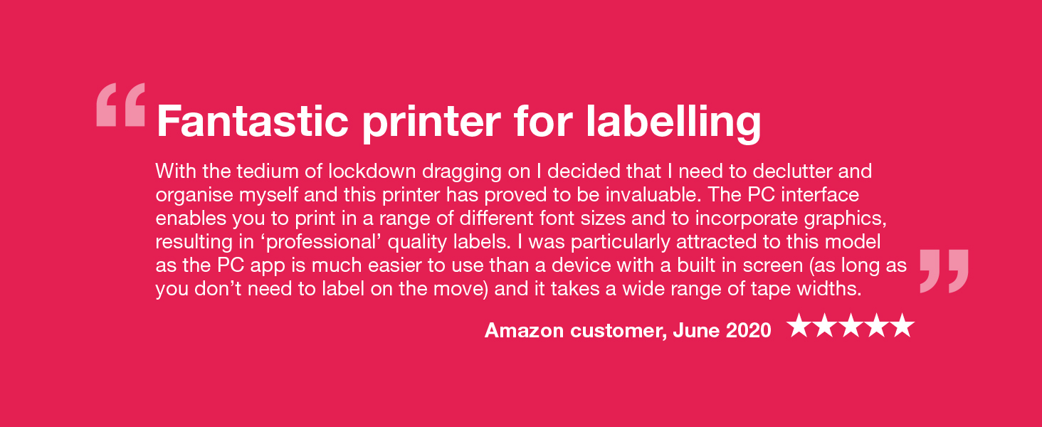 Brother PT-P700 professional office label printer - Reviews