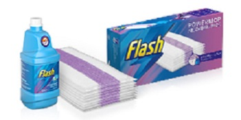 Refill with Flash Powermop pads and cleaning solution