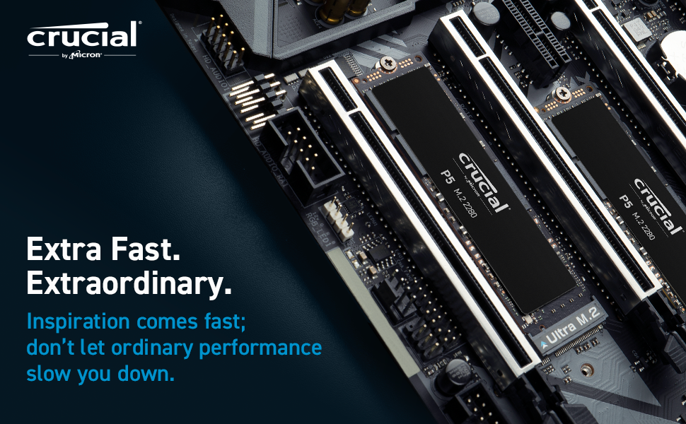 Crucial P5 NVMe SSD