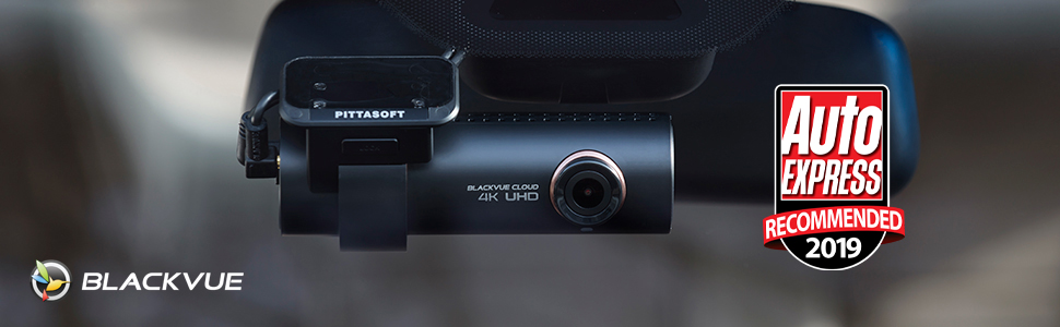 BlackVue DR900S-2CH Dash Cam, Over the Cloud, Connected, Live View, Parking Mode, GPS, Wi-Fi