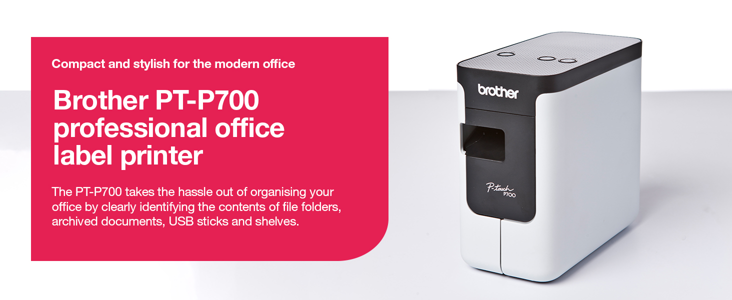 Brother PT-P700 professional office label printer