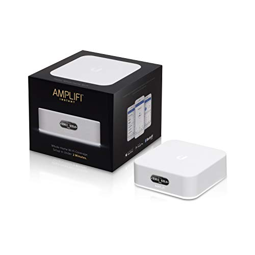 AmpliFi Instant Home WiFi Mesh Router - AFI-INS-R (UK Version with UK PSU)