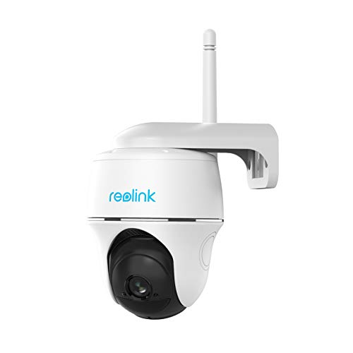 Reolink Pan Tilt Battery Security Camera Outdoor Solar Powered Rechargeable Wireless 1080p WiFi IP Camera Color Night Vision PIR Motion Detection Surveillance Camera