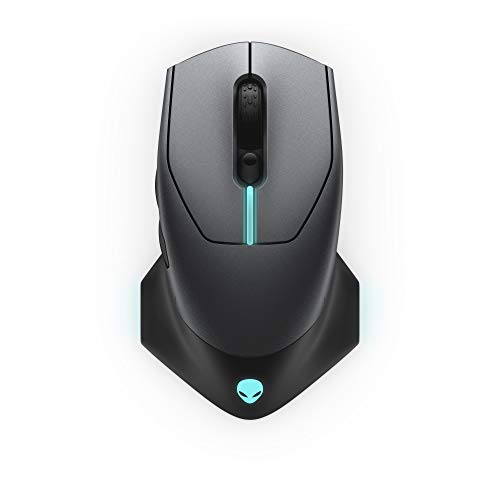 Alienware 610M Wired/Wireless Gaming Mouse - AW610M (Dark Side Of The Moon)
