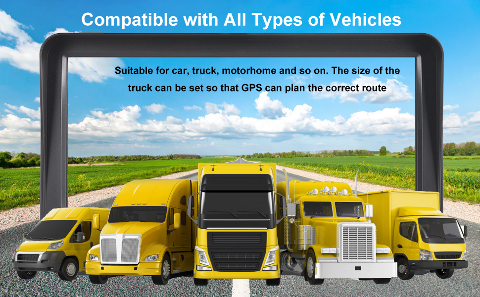 Compatible with all types of vehicles