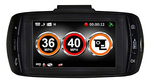 Aguri DX1000 with 1296 Super HD video recording and GPS speed trap alerts
