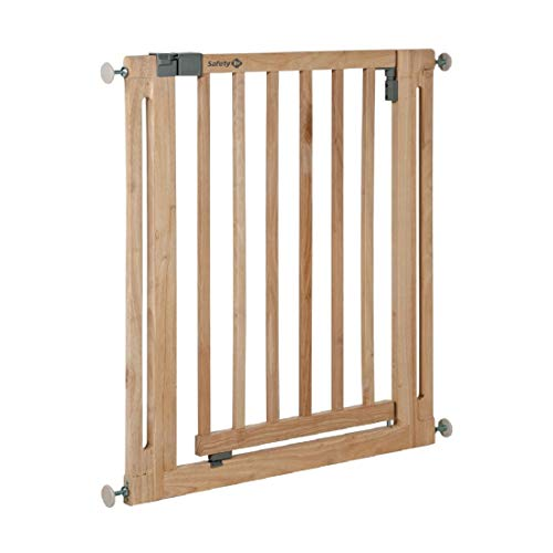 Safety 1st Easy Close Wood Door Safety Gate Made from Wood / Pressure Fit / Natural 24040100