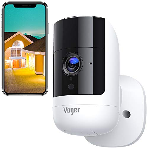 Voger Wireless Security Camera Outdoor with Rechargeable Battery